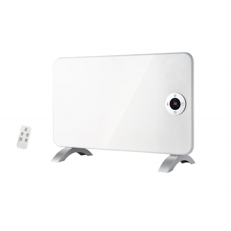Convector electric digital cu telecomandă, timer, display led, 1000W, Victronic